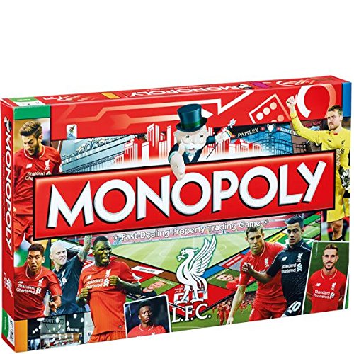 Monopoly - Juego de Mesa, de 2 a 8 Jugadores (Winning Moves UK 12456) (Importado)