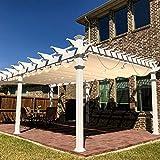 Windscreen4less Outdoor Waterproof Retractable Pergola Replacement Shade...