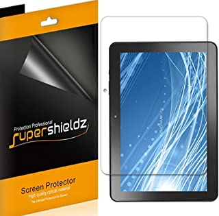 Supershieldz (3 Pack) for Insignia 10 inch, and Insignia 10.1 inch Flex (NS-P10A7100, NS-P10A8100) Screen Protector, High Definition Clear Shield (PET)