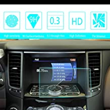 For 2009 2010 2011 2012 2013 Infiniti FX 35 37 50 8-Inch 175105mm Car Navigation Screen Protector HD Clarity 9H Tempered Glass Anti-Scratch, In-Dash Media Touch Screen GPS Display Protective Film