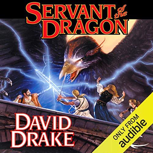 Servant of the Dragon audiobook cover art