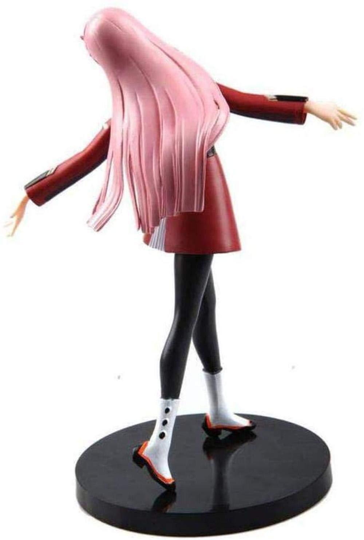 SEGA Zero Two DARLING In The FRANXX 02 Statue Anime Figures PVC Figure Toy Anime Characters Doll Model Desktop Decoration 21CM