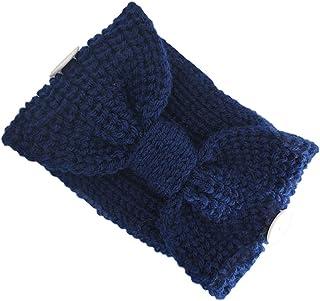 WANBAO Beautiful Crown Bandeau de Centre noué à nœud d'hiver avec Boutons de Protection de l'oreille Tête de Protection So...