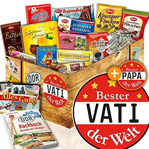 Bester Vati der Welt / Geschenk für Vati / DDR Paket Schoko