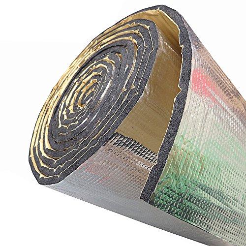 SOOMJ Heat Shield, Sound Deadening Material, Car Sound deadening mat, Engine Insulation Foam with Aluminum sheet 1100(AA)