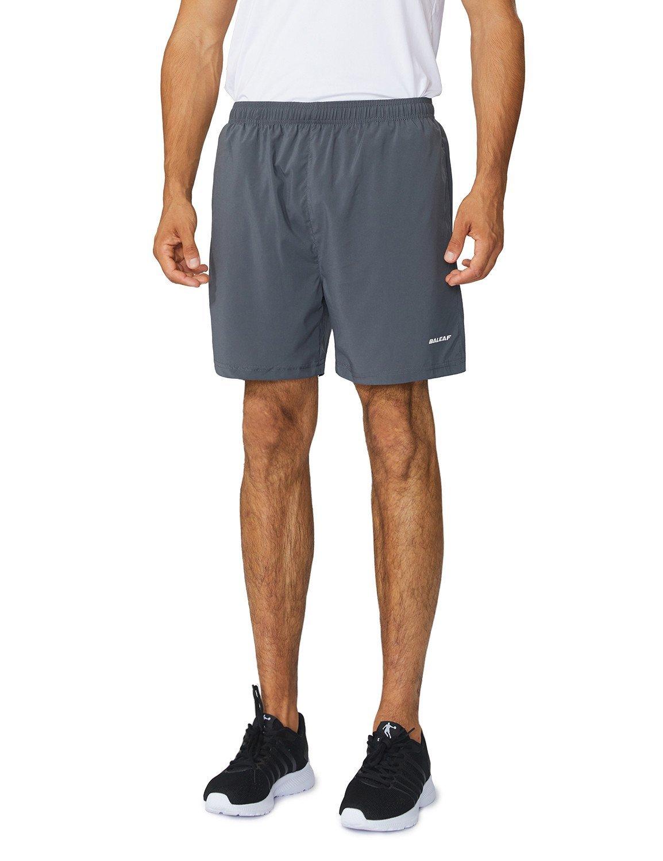 BALEAF Running Athletic Shorts Zipper