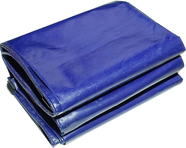 CFHJN Home Tissu antipluie imperméable bache rembourré antipluie imperméable Prougeection Solaire bache bache Camion bache Couvrant Tente Tissu Anti-vieillissement (Couleur   bleu, Taille   3x4M)