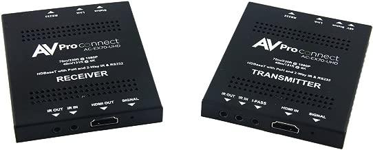 AVPro Edge AC-EX70-UHD-KIT Compatible with HDBaseT