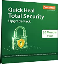Quick Heal Total Security Renewal Upgrade Gold Pack - 1 User, 3 Years (Email Delivery in 2 hours- No CD)- Existing Quick H...