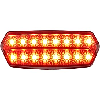 MOTORCYCLE LED REAR Stop TAIL BRAKE STOP LIGHT for Honda Grom 125 MSX 2013-2017