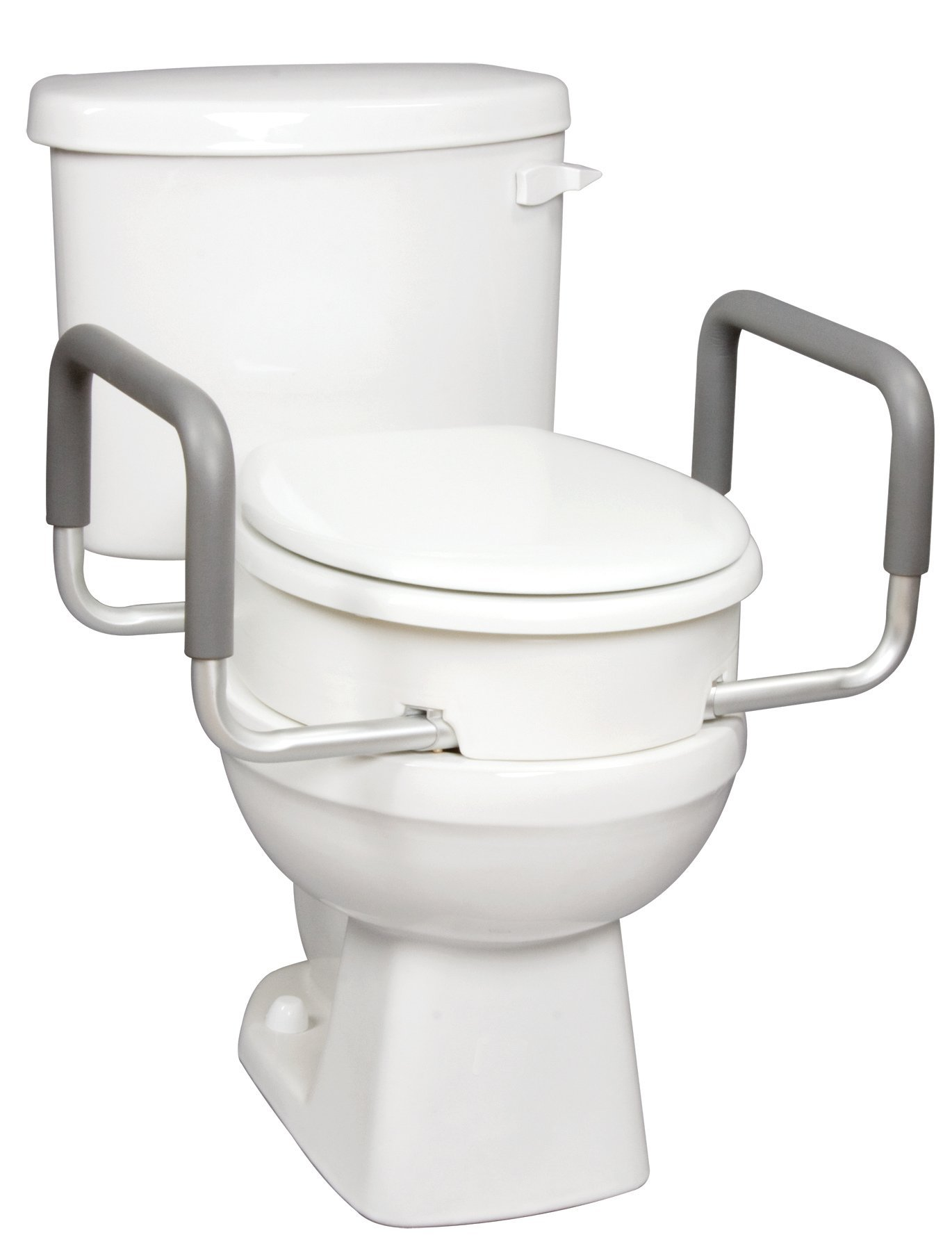 Carex Raised Toilet Seat Handles