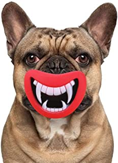 Toy Dog, Durable And Safe Dog Toy, Devil's Lips, Dog Toys For Making Your Dog Happy Healthy molars 3 (Color : Red, Size : M)
