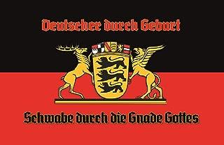 Deutscher Schwabe durch die Gnade Gottes Germany Nostalgic Domed Strong Metal Tin Pub Sign 7.87