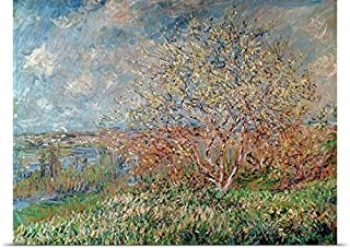 GREATBIGCANVAS Entitled Spring, 1880 82 Oil on Canvas Poster Print, 24