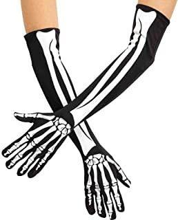 Skeleton Opera Adult Gloves