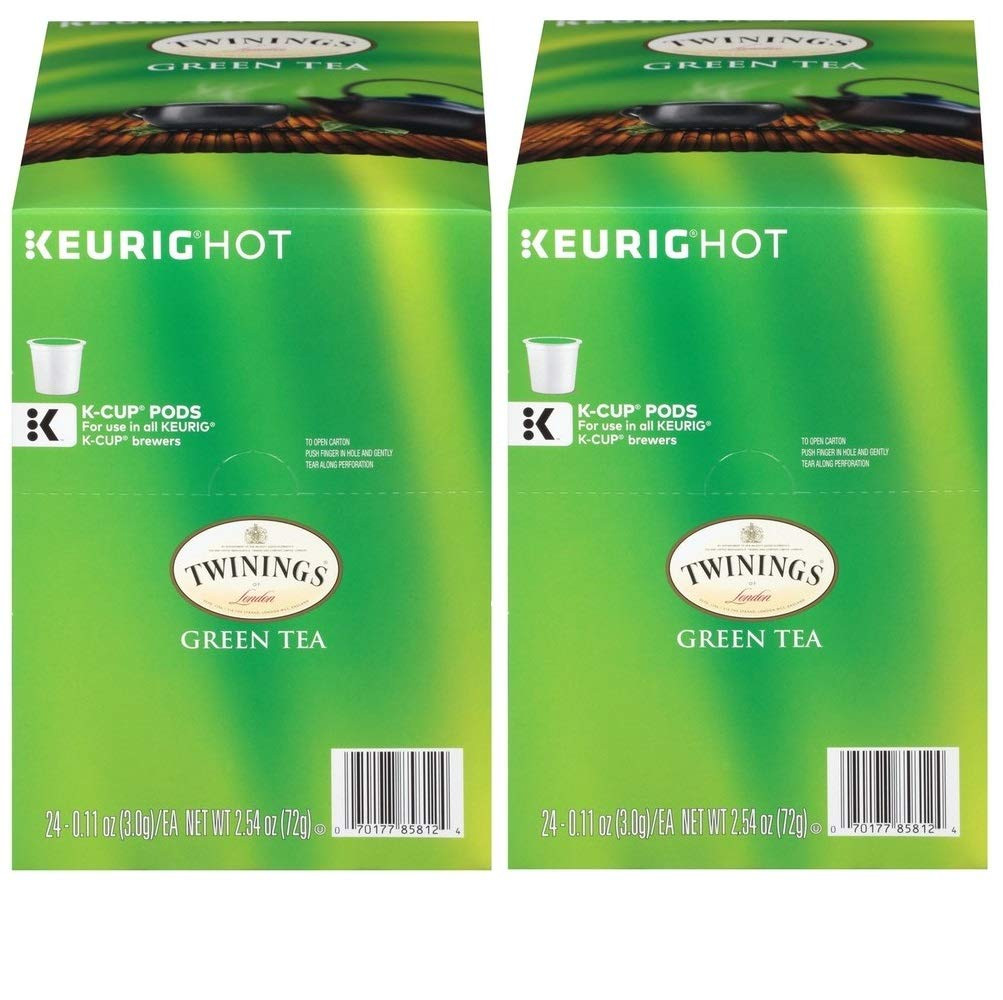 Twinings Gorgeous Green Tea single serve capsules for K-Cup Shipping included br Keurig pod