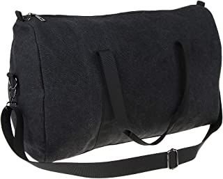 F Fityle Canvas Outdoor Shoulder Bag Tote Crossbody Messenger Large Unisex