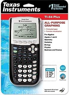 Texas Instruments TI-84 Plus Graphing Calculator, Black
