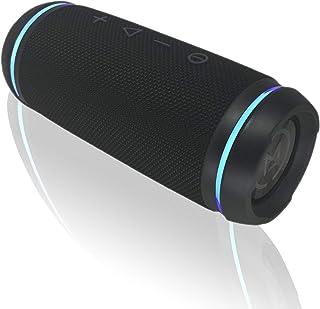 Morpheus 360 Sound Ring Portable Bluetooth Speaker 12W Loud Wireless Speakers 360ËšHD Sound Waterproof IPX6 Deep Bass Dual...