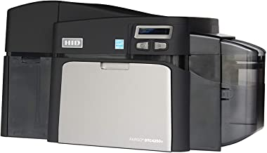 Fargo DTC4250e Dual-Side ID Card Printer & Supplies Package with Card Imaging Software 52100