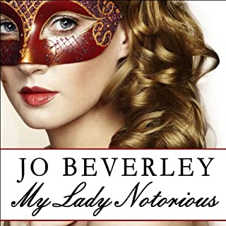 My Lady Notorious audiobook cover art