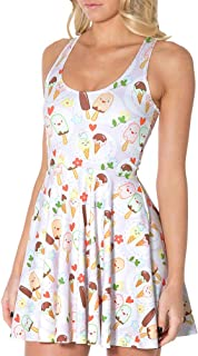 Sister Amy Women's Galaxy Printed Elastic Sleeveless Shaping Camisole Skater
