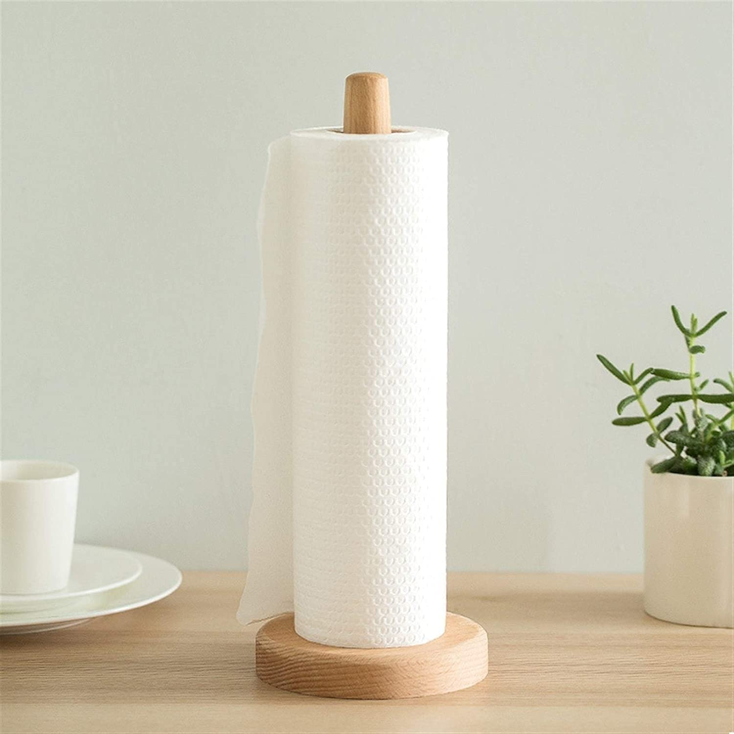 ZHJ kitchen roll dispenser Wooden Roll Los Free shipping / New Angeles Mall Kitch Towel Paper Holders