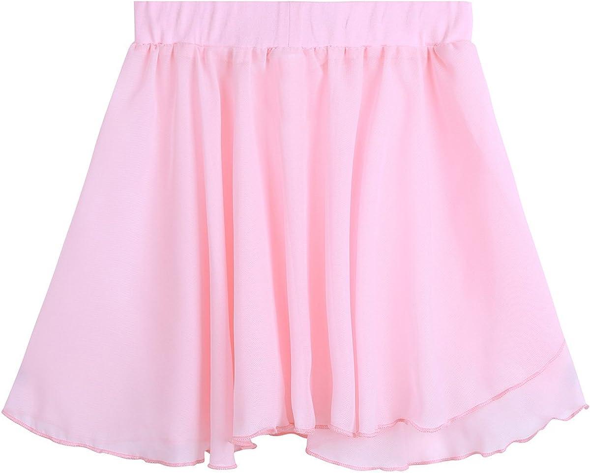 inlzdz Oklahoma City Mall Kids Girls Ballet Dance Directly managed store Chiffon Wrap Skirt Pull-on Skirts