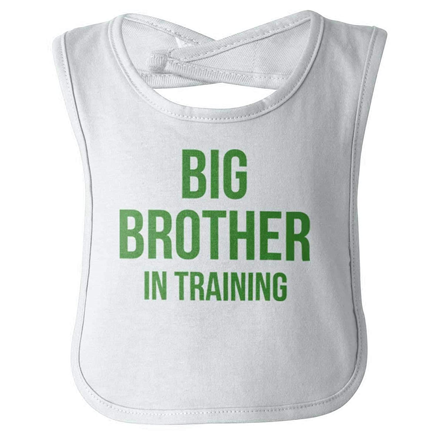 Big Brother in Training New Older Sibling Infant Baby Bib