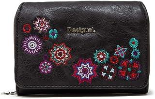 Luxury Fashion | Desigual Womens 19WAYP43BLACK Black Wallet | Fall Winter 19