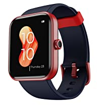 """boAt Xtend Smartwatch with Alexa Built-in, 1.69"""" HD Display, Multiple Watch Faces, Stress Monitor,"""