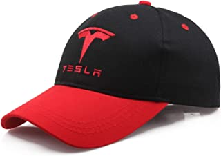 d35b940e2b75b Baseball Cap Tesla car Logo Embroidery Casual Hat 2019 Man F1 Motorcycle  Sport hat