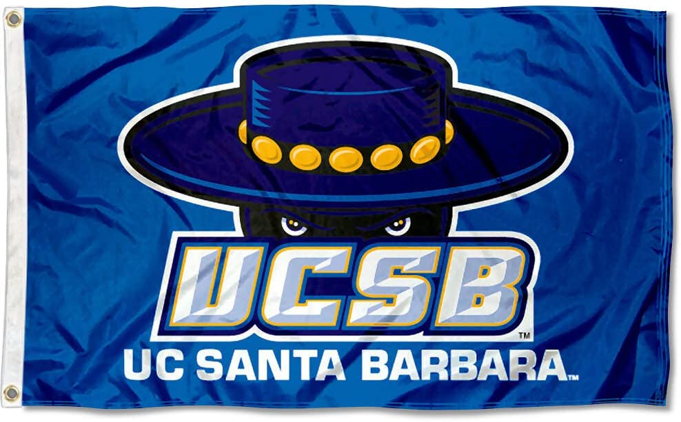 UC Santa Barbara Gauchos UCSB University Large College Flag