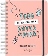 Amazon.es: agenda mister wonderful