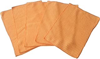 HOKY クロス マイクロファイバー 乾拭き専用 5枚セット オレンジ オールラウンドファミリーワイパー用
