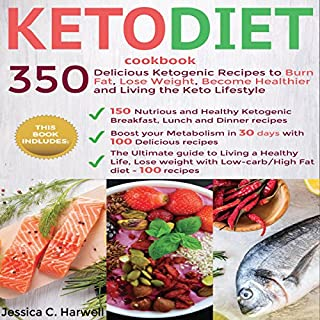 Keto Diet Cookbook cover art