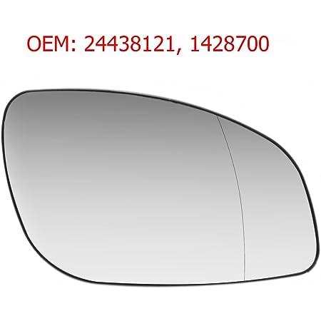 Carjoy 650480 Außenspiegel Beheizbar Weit Winkel Glas Spiegelglas Rechts Beifahrerseite Für Vectra C Signum Oem 24438121 1428700 Auto