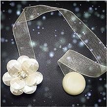 Clip Rings Bloemvorm Tiebacks for Gordijnen Decor Gordijn Clips Holder Strap Magneet Gordijn Buckle Magnetic Accessoire (C...