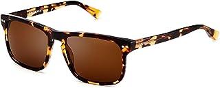 Reveler | Polarized Rectangular Men's Sunglasses | 57 mm