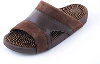 Kenkoh Japanese Massage Sandal Osaka Brown