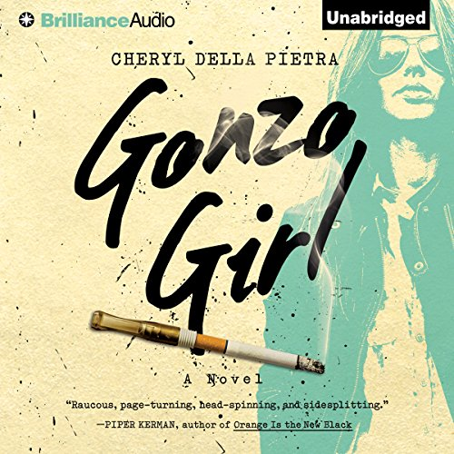 Gonzo Girl audiobook cover art