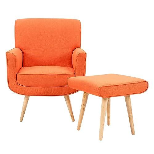 Orange Armchair Amazon Co Uk