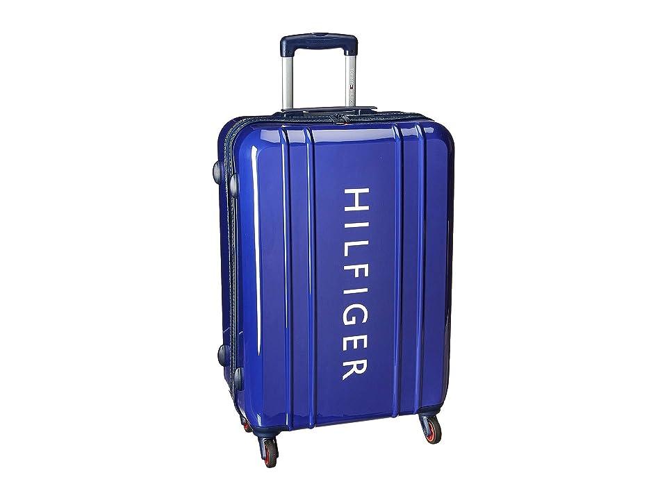 Tommy Hilfiger 25 Maryland Hardside Upright Suitcase (Navy) Luggage