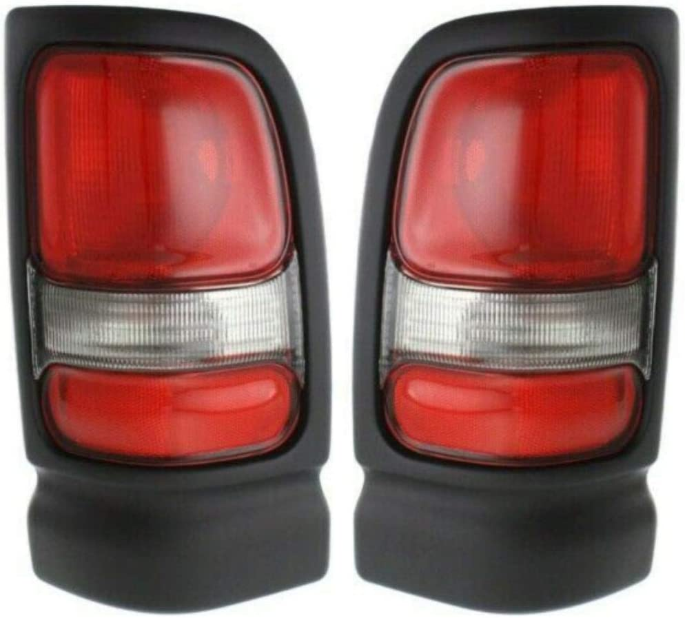 New Max 84% OFF Set of 2 Tail Light with Dealing full price reduction Ram Compatible 1994-2001 1500 1994-