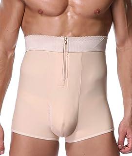 UK Men Body Contour Shaper High Waist Slimming Short Underwear Shapewear S-2XL