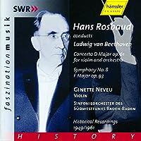 Beethoven: Violin Concerto / Symphony No.8