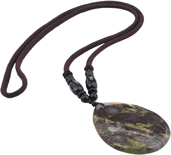 Natural Agate pendant Polished Crystal Slice Pendant Reiki Stone Healing Gift 1x