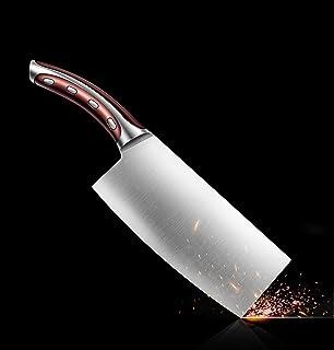 包丁 中華包丁 キッチンナイフ 中華ナイフ ステンレス鋼  肉切り 野菜切り 切れ味抜群 業務用・家庭用 シェフナイフ 両刃洋包丁 食洗機対応 お手入れ簡単