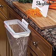 Skyfish Attach A Trach Hanging Trash Bag Holder for Garbage in Kitchen