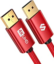 DisplayPort Cable, Silkland DP Cable 6.6 ft [4K@60Hz,...